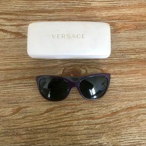 Versace cat eyed sunglasses.